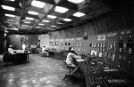 The control room of the Chernobyl nuclear power plant at Pripyat. Photo credit goes to: RIA Novosti
