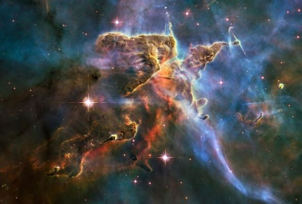 Breathtakingly beautiful, if I do say so myself. Courtesy of the Hubble Space Telescope.