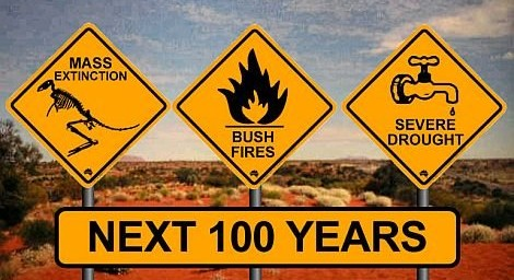 Global warming signs