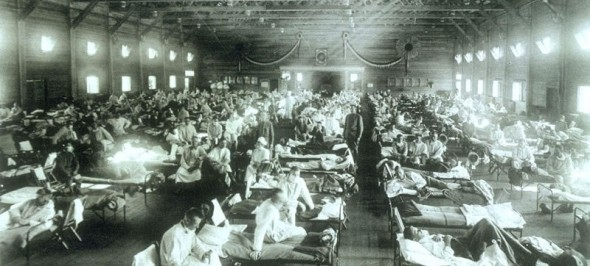 Spanish Flu outbreak of 1918