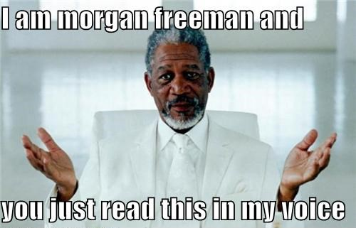 morgan freeman voice