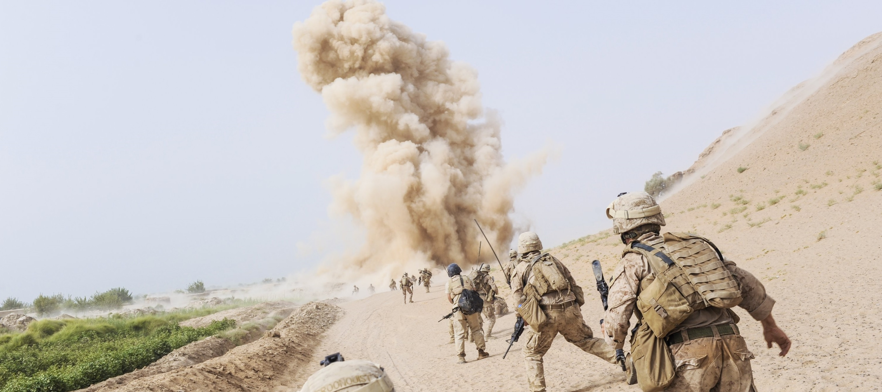 the hidden neurological impact of explosions on military