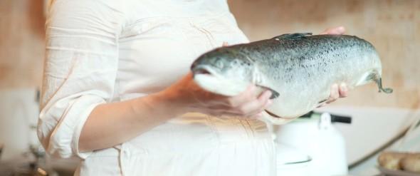 pregnant women fish
