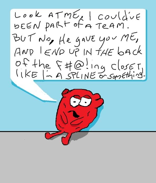 heart closet