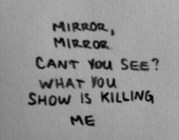 mirror mirror anorexia