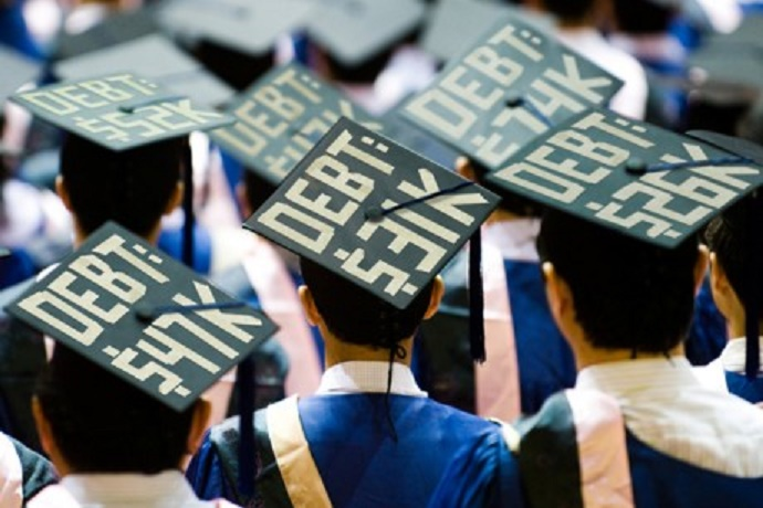 Students in credit crisis