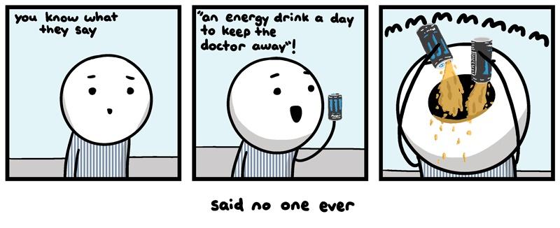 energy drinks funny meme