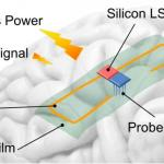 Wirelessly supplying power to brain
