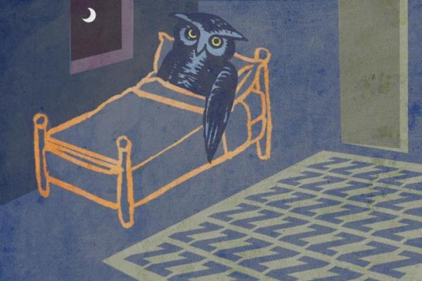 link between adequate sleep, earlier bedtimes and heart-healthy behavior.