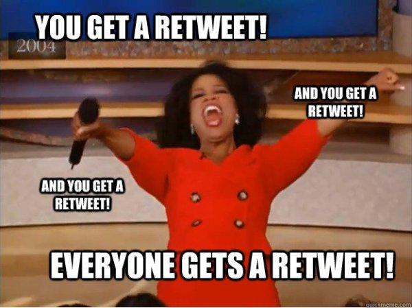 oprah retweet