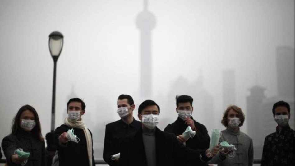 air pollution china