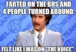 farted on the bus