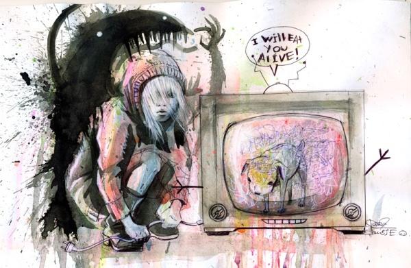Lora zombie PTSD