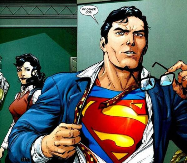Superman without the glasses