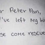 peter pan come rescue me