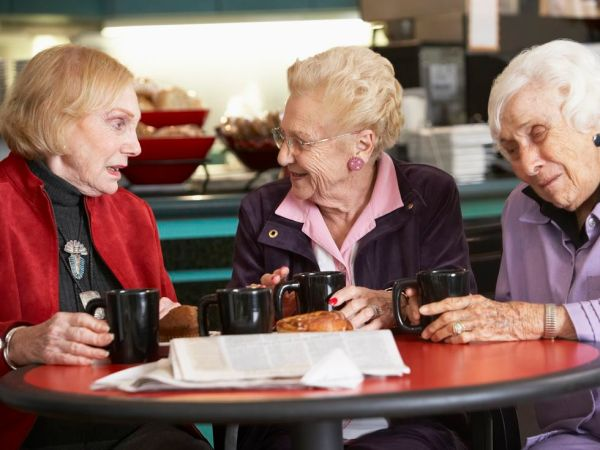 dementia coffee drinking