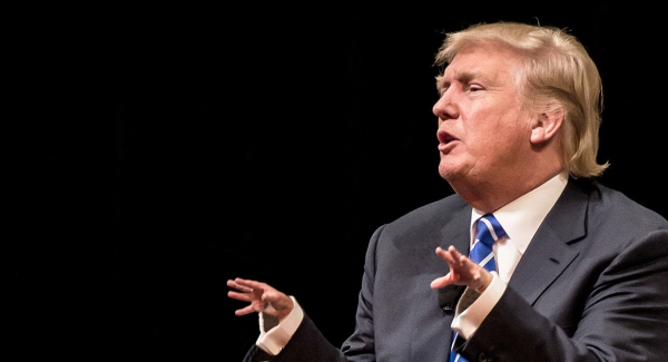 Donald trump hands