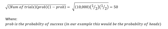 variance example
