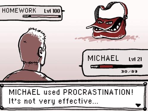 Pokemon procrastination