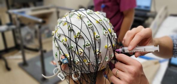 EEG setup