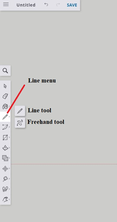 Sketchup drawing menu