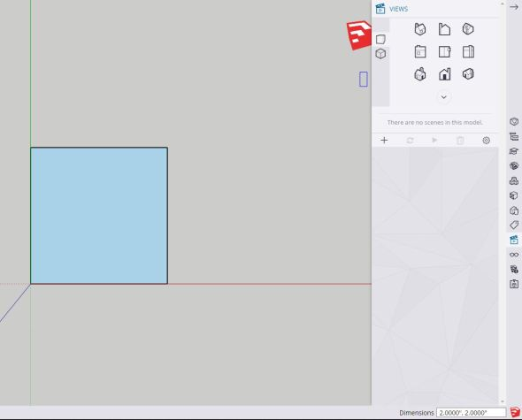 Sketchup rectangle
