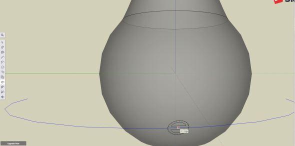 Sketchup - rotate tool