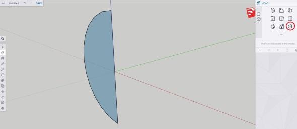 Sketchup - sphere step 4