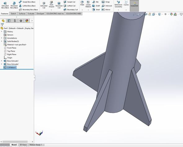 Solidworks - fin-ished