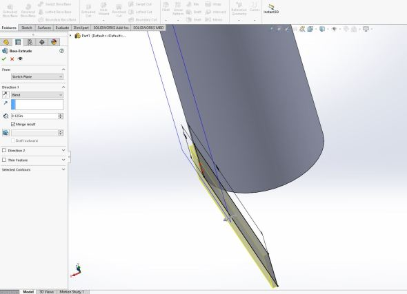 Solidworks - neck 4