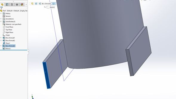 Solidworks - neck 6