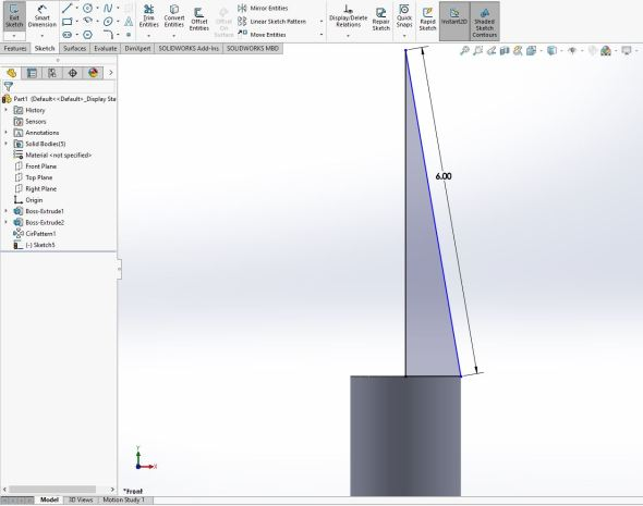 Solidworks - nose cone