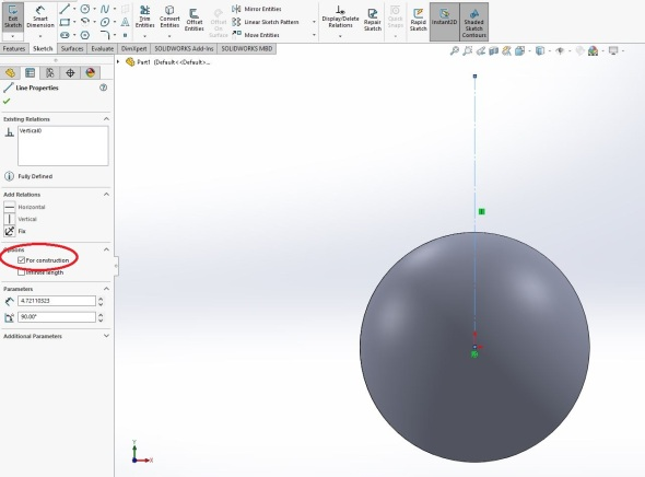 Solidworks - step 2