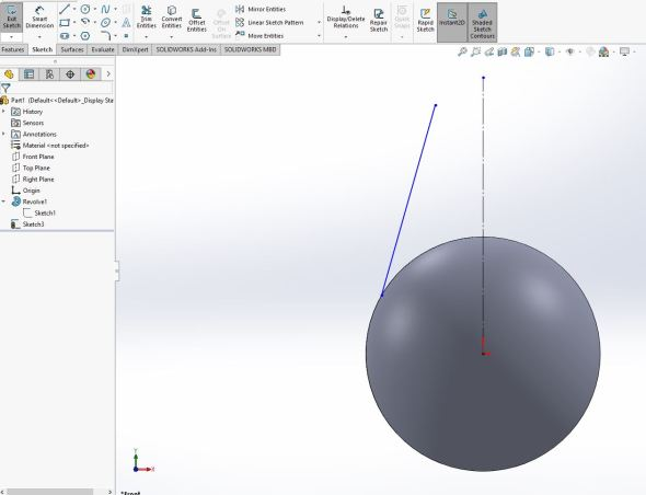 Solidworks - step 3