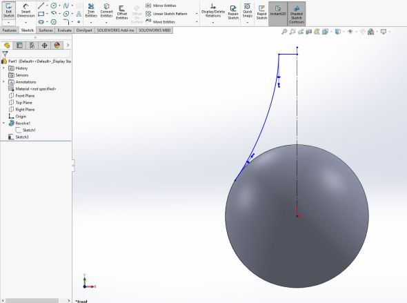 Solidworks - step 5