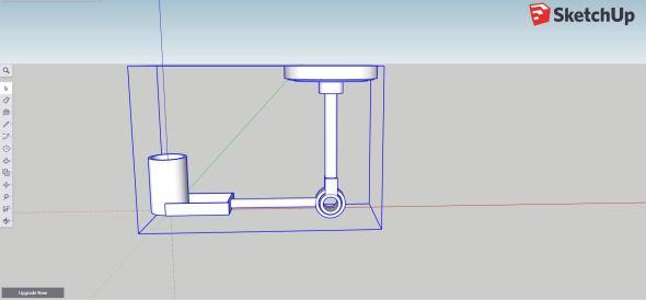 Sketchup - Lamp1