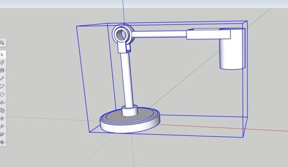 Sketchup - Lamp2