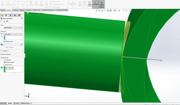 Solidworks - joint 7
