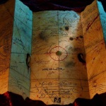 A pirate's treasure map